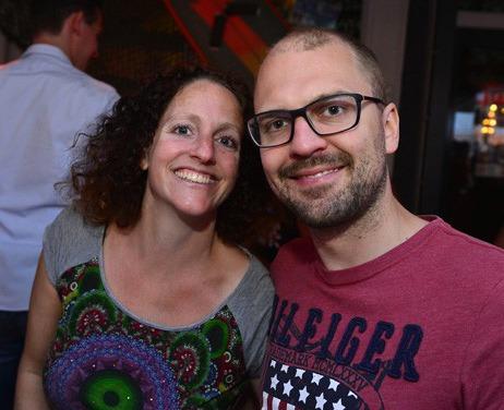 Rene Tobe | Ik (rechts) samen met mijn vriendin. | Therapeut & eigenaar