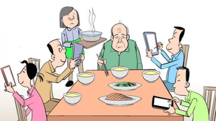 Smartphone, tablets kunnen ook zeer verslavend zijn.